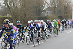The riders pass near Zwevegem during the 56th edition of the E3 Harelbeke, Belgium, 22nd  March 2013 (Photo by Eoin Clarke 2013)