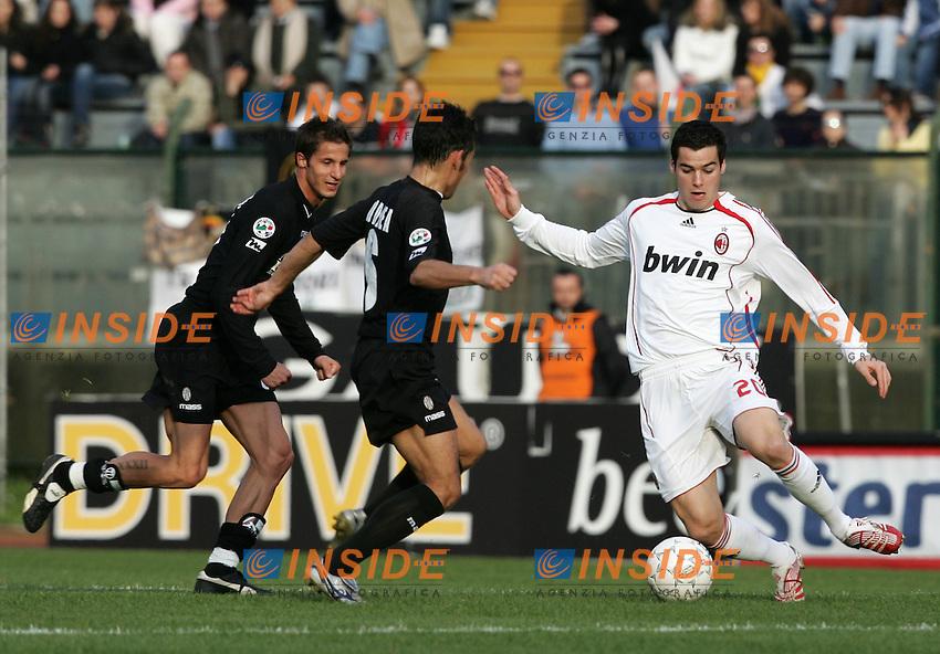 Yoann Gourcuff (Milan)<br /> Italian &quot;Serie A&quot; 2006-07<br /> 17 Feb 2007 (Match Day 24)<br /> Siena-Milan (3-4)<br /> &quot;Artemio Franchi&quot;-Stadium-Siena-Italy<br /> Photographer: Andrea Staccioli INSIDE