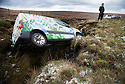 20/11/15<br /> <br /> A van lies in a ditch after coming off the road in wintery conditions on the Sake Pass A57 near Glossop high in the Derbyshire Peak District.<br /> All Rights Reserved: F Stop Press Ltd. +44(0)1335 418365   +44 (0)7765 242650 www.fstoppress.com