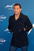 London, UK. 19 January 2016. Actor Joe Swash. Celebrities arrive on the red carpet for the London premiere of Amaluna, the latest show of Cirque du Soleil, at the Royal Albert Hall.
