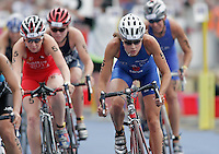 30 JUL 2006 - SALFORD, UK - Vanessa Raw - ITU World Cup round - Salford. (PHOTO (C) NIGEL FARROW)
