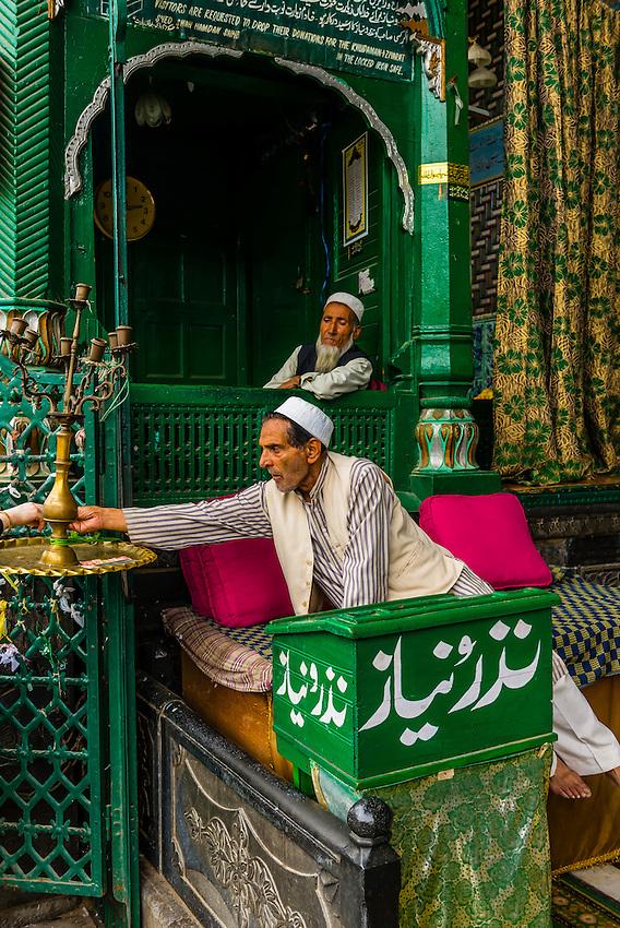 Shah Hamdan Shrine, Srinagar, Kashmir, Jammu and Kashmir State, India.