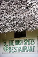 """Afrique/Afrique de l'Est/Tanzanie/Zanzibar/Ile Unguja/env de Stone Town: restaurant du """"Spices Garden """" de sa """"Banana Farm"""""""