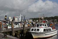 Hafen in Flensburg, Schleswig-Holstein, Deutschland