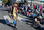 Characters with the Mayfield Gang walk in the 75th annual Nevada Day parade in Carson City, Nev., on Saturday, Oct. 26, 2013.<br />