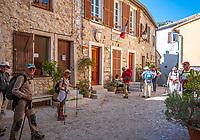 Frankreich, Provence-Alpes-Côte d'Azur, Sainte-Agnès (Alpes-Maritimes): Bergdorf (Village Perché) an den Auslaeufern der franzoesischen Seealpen, es bezeichnet sich als Village du littoral le plus haut d'Europe - als hoechstgelegenes Kuestendorf Europas und liegt oberhalb von Menton, es bekam die Auszeichnung 'eines der schoensten Doerfer Frankreichs' | France, Provence-Alpes-Côte d'Azur, Sainte-Agnès (Alpes-Maritimes): mountain village (Village Perché) above Menton in the French Maritime Alps, labelled as one of the most beautiful villages of France