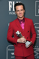 12 January 2020 - Santa Monica, California - Andrew Scott. 25th Annual Critici's Choice Awards - Press Room held at Barker Hangar. Photo Credit: Birdie Thompson/AdMedia