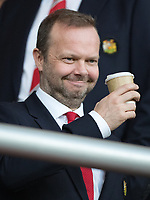 Man Utd Chief Executive Ed Woodward during the Premier League match between Bournemouth and Manchester United at the Goldsands Stadium, Bournemouth, England on 18 April 2018. Photo by Andy Rowland.
