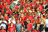 CALI - COLOMBIA, 03-03-2020: <br /> Hinchas del América durante partido del grupo H como parte de la Copa CONMEBOL Libertadores 2020 entre América de Cali de Colombia y Gremio de Brasil jugado en el estadio Pascual Guerrero de la ciudad de Cali. / Fans of America  during match of the group H as part of Copa CONMEBOL Libertadores 2020 between America de Cali of Colombia and Gremio of Brazil played at Pascual Guerrero stadium in Cali. Photo: VizzorImage / Nelson Rios / Contribudor