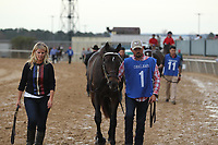 HOT SPRINGS, AR - FEBRUARY 19: My Boy Jack #1, before the running of the Southwest Stakes at Oaklawn Park on February 19, 2018 in Hot Springs, Arkansas. (Photo by Justin Manning/Eclipse Sportswire/Getty Images)