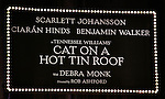Theatre Marquee during the Broadway Opening Night Performance Curtain Call for 'Cat On A Hot Tin Roof' at the Richard Rodgers Theatre in New York City on 1/17/2013