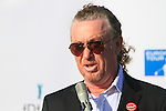 Miguel Angel Jimenez, tournament host, speaks at the end of the Final Day Sunday of the Open de Andalucia de Golf at Parador Golf Club Malaga 27th March 2011. (Photo Eoin Clarke/Golffile 2011)