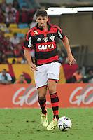 RIO DE JANEIRO, 18.05.2014 - Lucas Mugni do Flamengo durante o jogo contra São Paulo pela quinta rodada do Campeonato Brasileiro disputado neste domingo no Maracanã. (Foto: Néstor J. Beremblum / Brazil Photo Press)