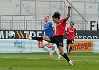 Chance fuer Genki Haraguchi (Hannover 96)<br /> <br /> - 14.06.2020: Fussball 2. Bundesliga, Saison 19/20, Spieltag 31, SV Darmstadt 98 - Hannover 96, emonline, emspor, <br /> <br /> Foto: Marc Schueler/Sportpics.de<br /> Nur für journalistische Zwecke. Only for editorial use. (DFL/DFB REGULATIONS PROHIBIT ANY USE OF PHOTOGRAPHS as IMAGE SEQUENCES and/or QUASI-VIDEO)
