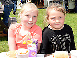 Ciara and Katie Carolan pictured at Oldbridge House open day. Photo:Colin Bell/pressphotos.ie