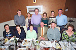 Helen Buckley from Abbeydorney celebrating her Birthday with family and friends at Darcy's on Saturday Pictured  Front l-r Valerie Buckley, Eileen Buckley, Helen Buckley, Michael Buckley, Shane Moynihan, Deirdre Buckley.  Back l-r Tadhg Crowley, Elaine Buckley, Michael Leyden, Ruth Buckley, Michelle Buckley, Pat Buckley