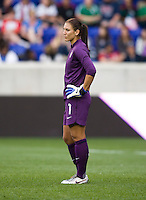Hope Solo. The USWNT defeated Mexico, 1-0, during the game at Red Bull Arena in Harrison, NJ.
