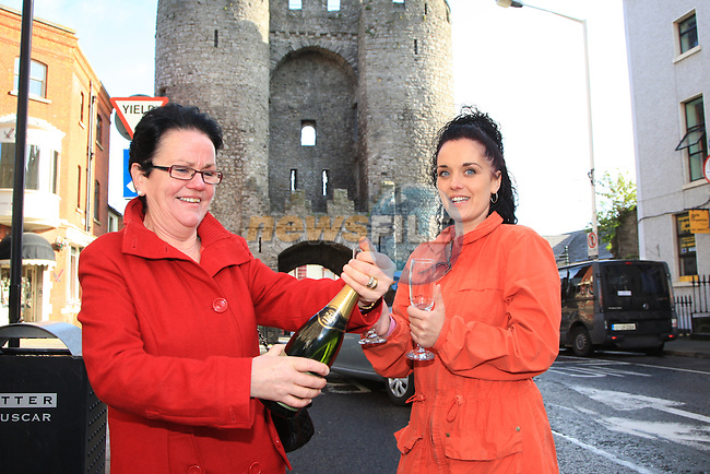 Lotto Winners.Picture Fran Caffrey www.newsfile.ie
