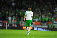 Cyrus Christie of Republic of Ireland during the UEFA Nations League B match between Wales and Ireland at Cardiff City Stadium in Cardiff, Wales, UK.September 6, 2018