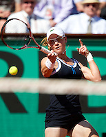 Samantha Stosur (AUS) ((7) against Jelena Jankovic (SRB) (4) in the semi-finals for the women's singles. Samantha Stosur beat Jelena Jankovic 6-1 6-2..Tennis - French Open - Day 12 - Thur 03 June 2010 - Roland Garros - Paris - France..© FREY - AMN Images, 1st Floor, Barry House, 20-22 Worple Road, London. SW19 4DH - Tel: +44 (0) 208 947 0117 - contact@advantagemedianet.com - www.photoshelter.com/c/amnimages