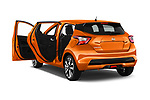 Car images of 2017 Nissan Micra Tekna 5 Door Hatchback Doors