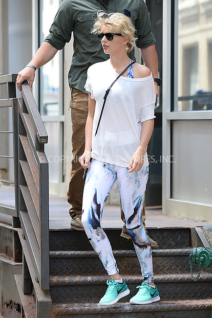 www.acepixs.com<br /> August 9, 2016 New York City<br /> <br /> Taylor Swift was seen leaving the gym in New York City on August 9, 2016.<br /> <br /> Credit: Kristin Callahan/ACE Pictures<br /> <br /> tel: 646 769 0430<br /> Email: info@acepixs.com