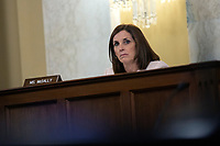 United States Senator Martha McSally (Republican of Arizona) listens during a United States Senate Aging Committee hearing at the United States Capitol in Washington D.C., U.S. on Thursday, May 21, 2020.  Credit: Stefani Reynolds / CNP/AdMedia