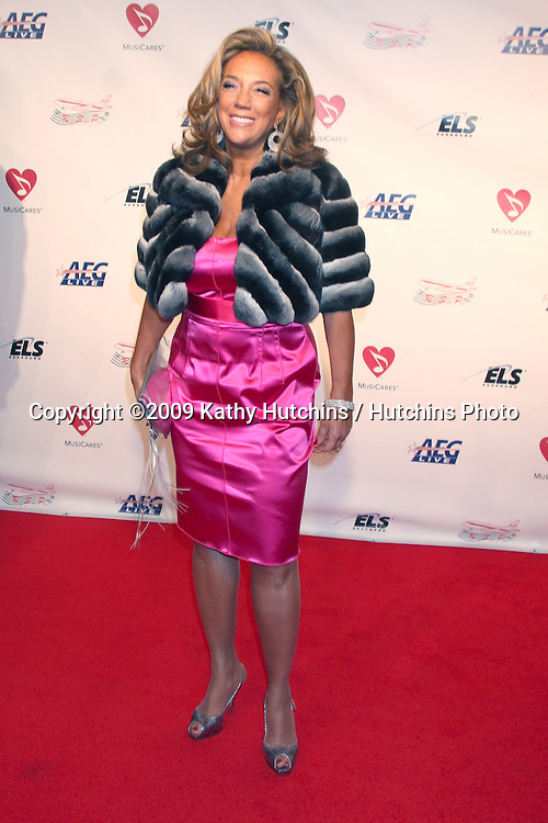 Denise Rich   arriving Music Cares Man of the Year Dinner honoring Neil Diamond at the Los Angeles Convention Center  in Los Angeles, CA on .February 6, 2009.©2009 Kathy Hutchins / Hutchins Photo..