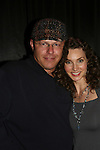 All My Children - Alicia Minshew poses with security on November 22, 2008 with photos, meet and greet and Q and A at the Brokerage Comedy Club and Vaudeville Cafe in Bellmore, New York. (Photo by Sue Coflin/Max Photos).
