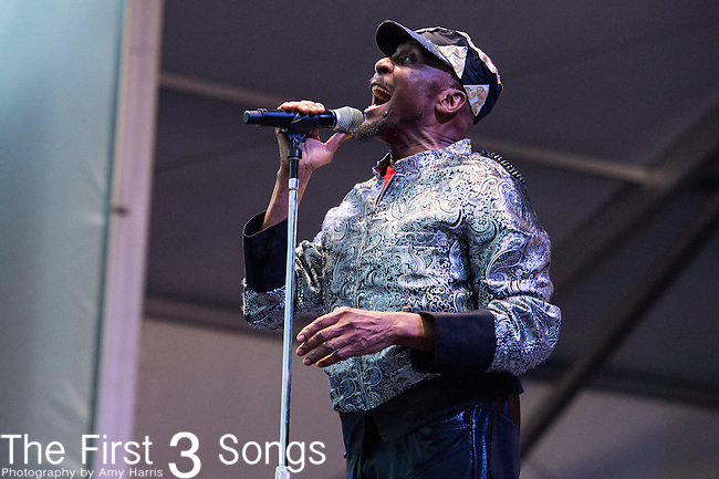 Jimmy Cliff performs during the 2015 New Orleans Jazz & Heritage Festival in New Orleans, Louisiana.