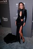 NEW YORK, NY - FEBRUARY 6: Alessandra Ambrosio arriving at the 21st annual amfAR Gala New York benefit for AIDS research during New York Fashion Week at Cipriani Wall Street in New York City on February 6, 2019. <br /> CAP/MPI99<br /> ©MPI99/Capital Pictures