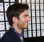 John Mulaney attends the Opening Night 'In & Of Itself' at the Daryl Roth Theatre on April 12, 2017 in New York City