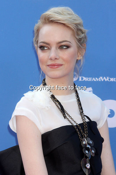 """Emma Stone attends the premiere of """"The Croods"""" at AMC Loews Lincoln Square in New York, 10.03.2013...Credit: Rolf Mueller/face to face"""