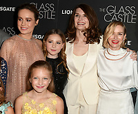 NEW YORK, NY - AUGUST 09: Brie Larson,Jeannette Walls, Naomi Watts, Max Greenfield and cast members attends 'The Glass Castle' New York Screening at SVA Theatre on August 9, 2017 in New York City. <br /> CAP/MPI/JP<br /> &copy;JP/MPI/Capital Pictures