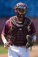 Catcher Tony Sanchez #26 of the Boston College Eagles at Wake Forest Baseball Park April 11, 2009 in Winston-Salem, NC. (Photo by Brian Westerholt / Four Seam Images)
