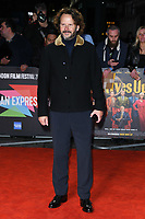 "LONDON, UK. October 08, 2019: Ram Bergman arriving for the ""Knives Out"" screening as part of the London Film Festival 2019 at the Odeon Leicester Square, London.<br /> Picture: Steve Vas/Featureflash"