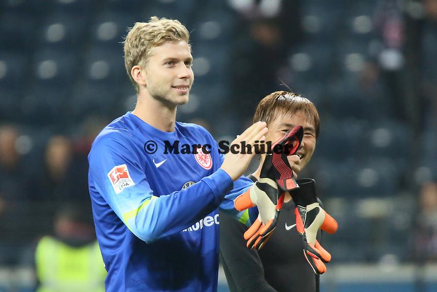 Felix Wiewald (Eintracht) - Eintracht Frankfurt vs. 1. FSV Mainz 05, Commerzbank Arena