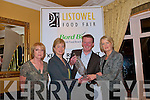 "Winners: Shelia Kelly from An Bord Bia and Biddy White Lennon(left)  presenting the Bord Bia ""Just Ask"" 2009 Kerry Restayurant of the Year award to Carmel & Jim McCarthy of the ""The Chart House"" restaurant in Dingle."