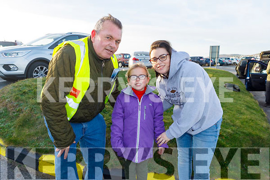 Pat, Lilly Mae and Jennifer Cashman from Ballyheigue enjoying the Ballyheigue Races on New Years Day.