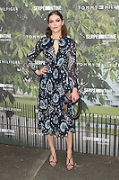 Amber Anderson<br /> arrives for the Serpentine Gallery Summer Party 2016, Hyde Park, London.<br /> <br /> <br /> ©Ash Knotek  D3138  06/07/2016