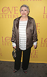 Carole Shelley  attends the 'Love Letters' Broadway Opening Night Performance at the Brooks Atkinson Theatre on September 18, 2014 in New York City.
