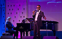 September 10, 2016, Washington DC, USA:   Tony and Grammy Award winner Billy Porter entertains the audience during the 20th Annual Human Rights Campaign (HRC) Dinner in Washington DC.  Patsy Lynch/MediaPunch