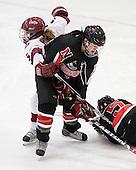 Kelsey Romatoski (Harvard - 5), ? - The Harvard University Crimson defeated the Northeastern University Huskies 1-0 to win the 2010 Beanpot on Tuesday, February 9, 2010, at the Bright Hockey Center in Cambridge, Massachusetts.