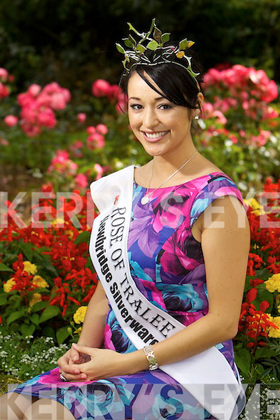 Tara Talbot, Queensland rose, pictured in Tralee Town Parh the morning after being crowned the 2011 International Rose of Tralee.