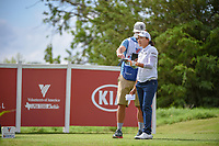 Ilhee Lee (KOR) looks over her tee shot on 12 during round 1 of  the Volunteers of America LPGA Texas Classic, at the Old American Golf Club in The Colony, Texas, USA. 5/4/2018.<br /> Picture: Golffile | Ken Murray<br /> <br /> <br /> All photo usage must carry mandatory copyright credit (&copy; Golffile | Ken Murray)