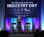 Anthony Rapp on stage during Broadwaycon at New York Hilton Midtown on January 11, 2019 in New York City.