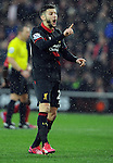 Adam Lallana of Liverpool - Barclays Premier League - Southampton vs Liverpool - St Mary's Stadium - Southampton - England - 22nd February 2015 - Pic Robin Parker/Sportimage