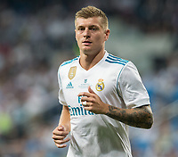 Real Madrid's German midfielder Tony Kroos