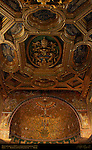 12th century Apse Vault Mosaics Gilded Coffered Ceiling Coat of Arms Pope Clement XI San Clemente Rome