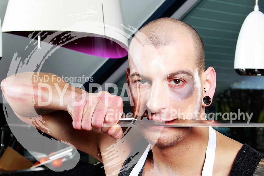 Kitchen-Photoshooting with Model Anthony in Hamelin